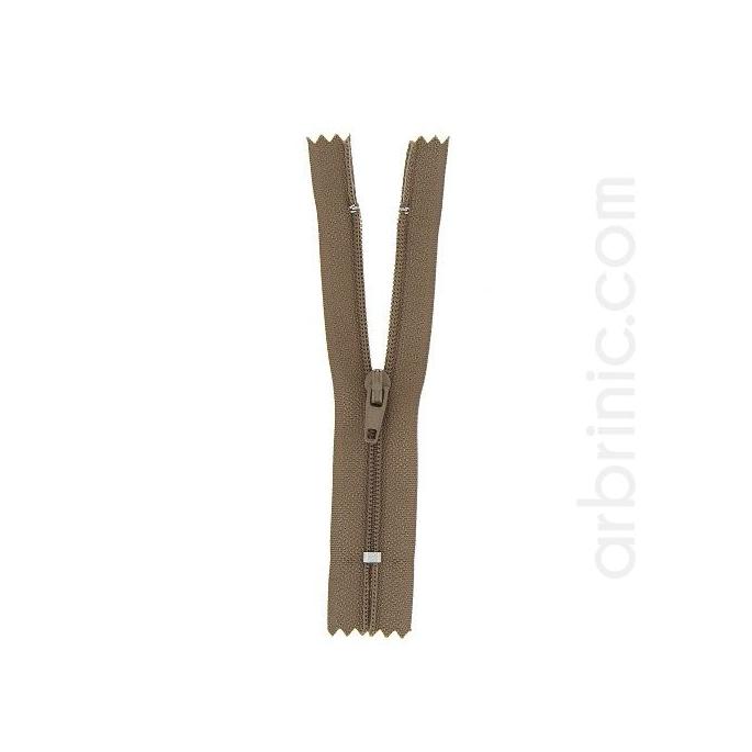 Fermeture fine nylon NS 10cm Canelle