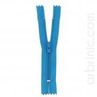 Fermeture fine nylon NS 10cm Turquoise