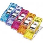 Clover wonder clips assorted colors (10 pcs)