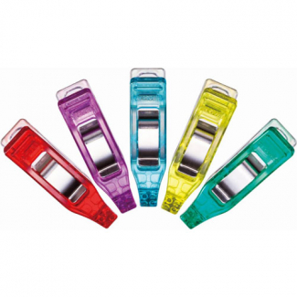 Clover mini wonder clips assorted colors (50 pcs)