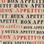 Coton - Cuisine Bon appetit - Michael Miller par 10 cm