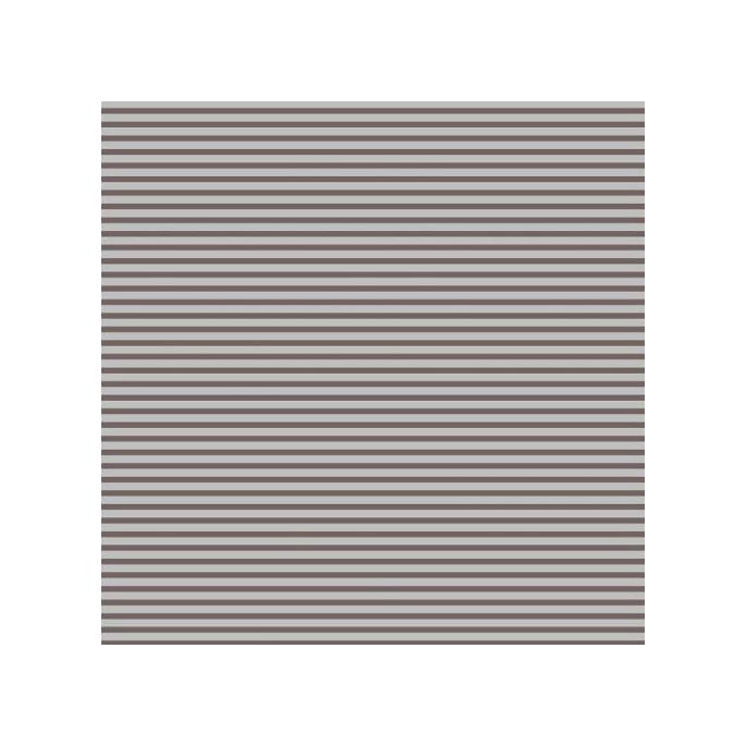Organic cotton Jersey print Life Stripe Brown Cloud9 (per 10cm)