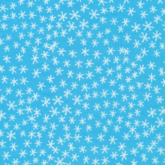 Organic cotton print Festive Snowflakes Cloud9