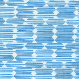 Coton Bio imprimé Lore Anecdote Blue Cloud9