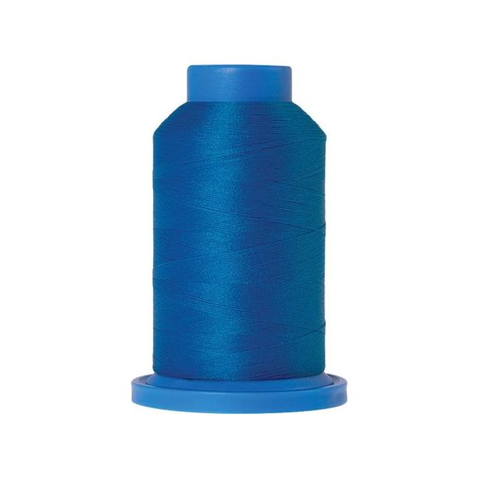 Mettler Seraflock Wolly Thread (100m) Color #0337 Bleu Moyen