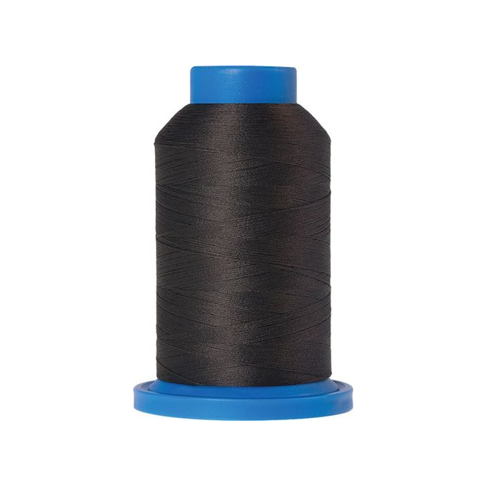Mettler Seraflock Wolly Thread (100m) Color #0416 Gris Foncé