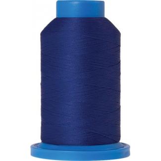 Fil mousse Mettler Seraflock 1000m Couleur n°2255 Bleu Roi