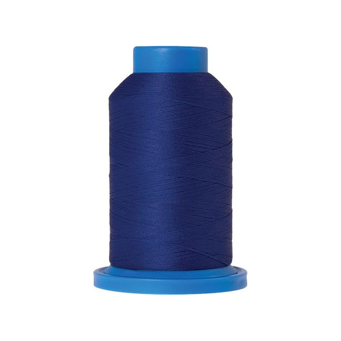 Mettler Seraflock Wolly Thread (100m) Color #2255 Bleu Roi