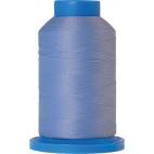 Mettler Seraflock Wolly Thread (100m) Color #0818 Bleu Clair