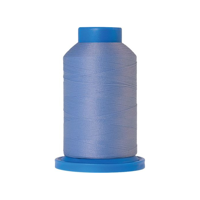 Mettler Seraflock Wolly Thread (100m) Color #0818 Bleu Clair