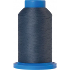 Mettler Seraflock Wolly Thread (100m) Color #5022 Bleu Gris