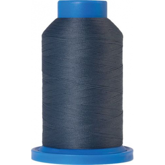 Mettler Seraflock Wolly Thread (100m) Color #5022 Bleu Gris