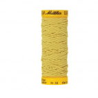 Mettler Elastic Sewing Thread Yellow (10m)