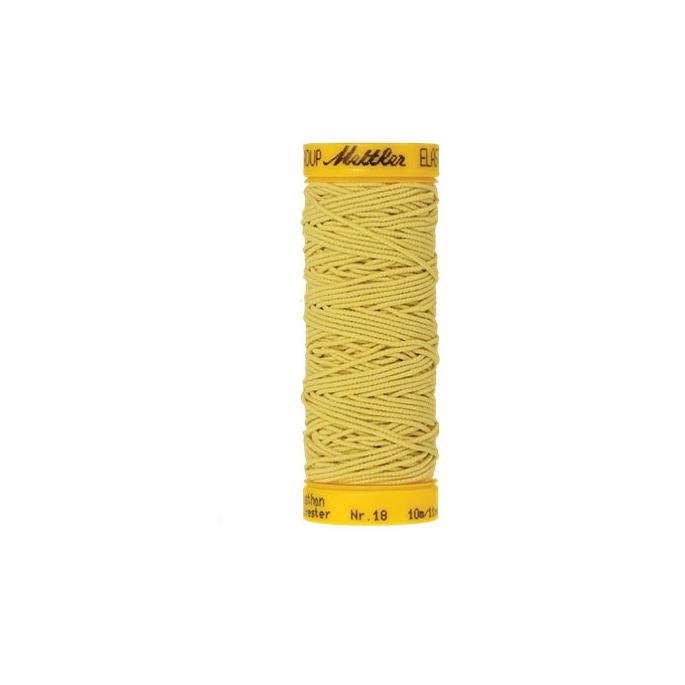 Fil à coudre élastique Mettler 1000m Jaune (10m)