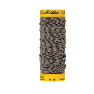 Fil à coudre élastique Mettler 1000m Gris Foncé (10m)