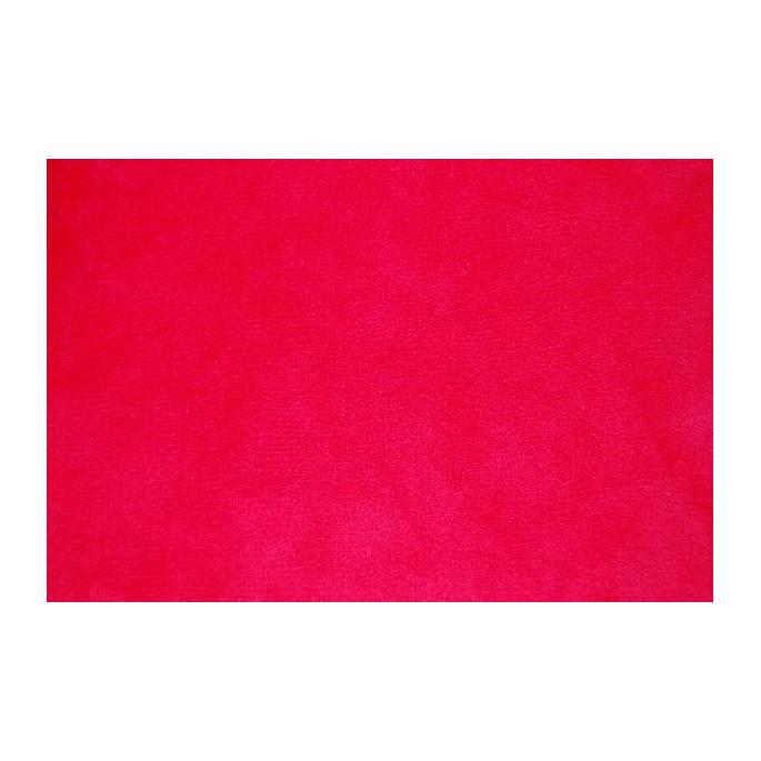 Minky Red (per metre)