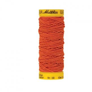 Mettler Elastic Sewing Thread Orange (10m)