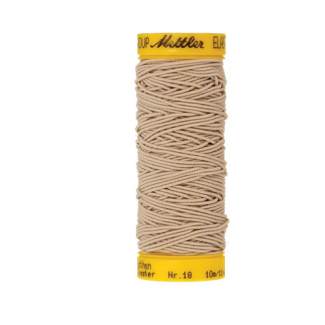 Mettler Elastic Sewing Thread Beige (10m)