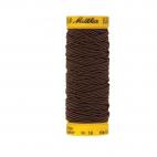 Mettler Elastic Sewing Thread Brown (10m)