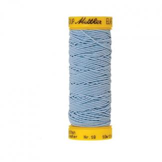 Mettler Elastic Sewing Thread Light Blue (10m)