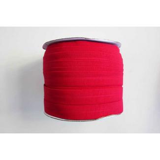 Biais élastique 2.5cm Rouge (Bobine 100m)