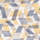 Organic cotton Double gauze Threads Brown Cloud9 (per 10cm)