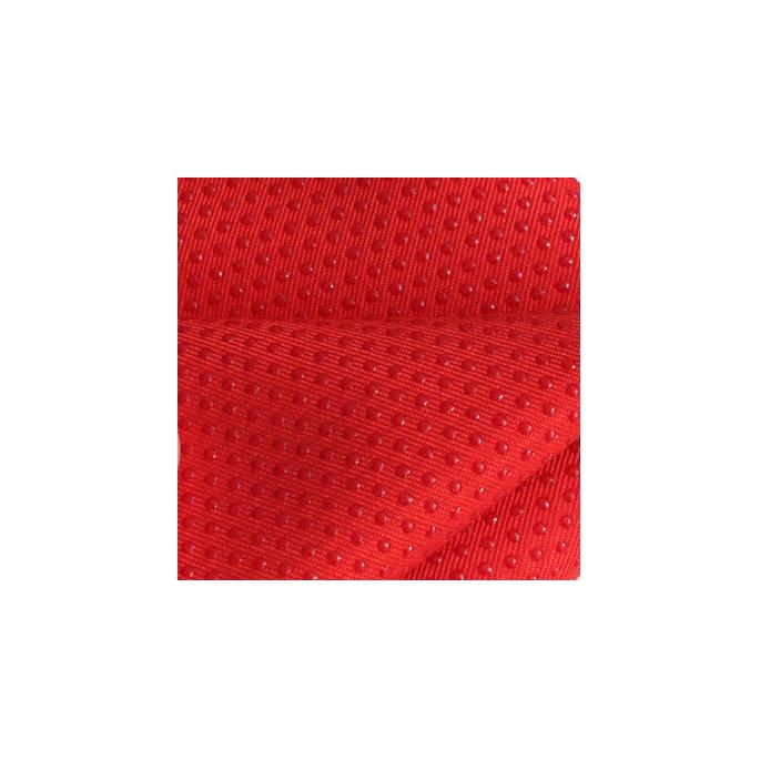 Antiskid baby shoe soles Grip fabric Red (per 10cm)