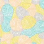 Coton Bio Popeline Wound Up Yarnies Yellow Cloud9 (par 10cm)