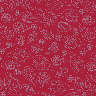 Light Cotton A Bicyclette Bordeaux 314 by Frou-frou (per 10cm)