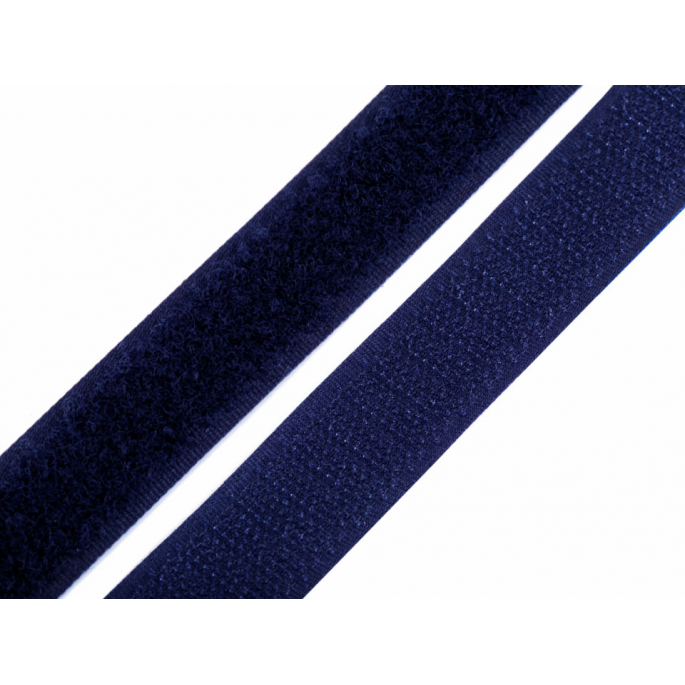 Scratch 3.0cm HOOK & LOOP Navy blue (per meter)
