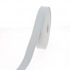 Cotton Webbing 30mm Light Grey (15m roll)