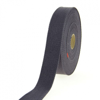 Cotton Webbing 30mm Dark Grey (15m roll)