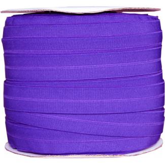 Fold Over Elastic 1 inch Purple (100m roll)