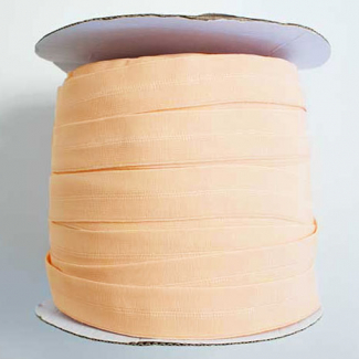 Fold Over Elastic 1 inch Peach (1m)