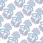 Cotton Knit print Fiesta Fun Flor Spring Art Gallery (per 10cm)