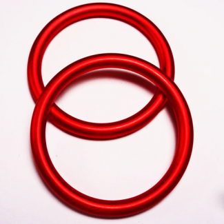 Sling Rings Red Size S (1 pair)