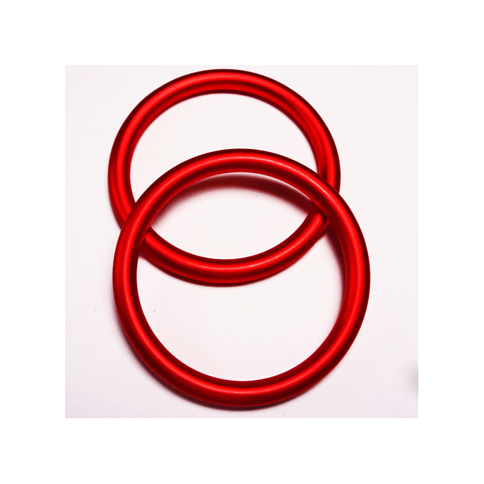 Anneaux de portage Rouge Taille S (1 paire)