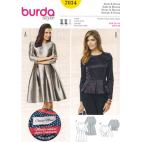 Burda Style 7034 Dress & Blouse Pattern