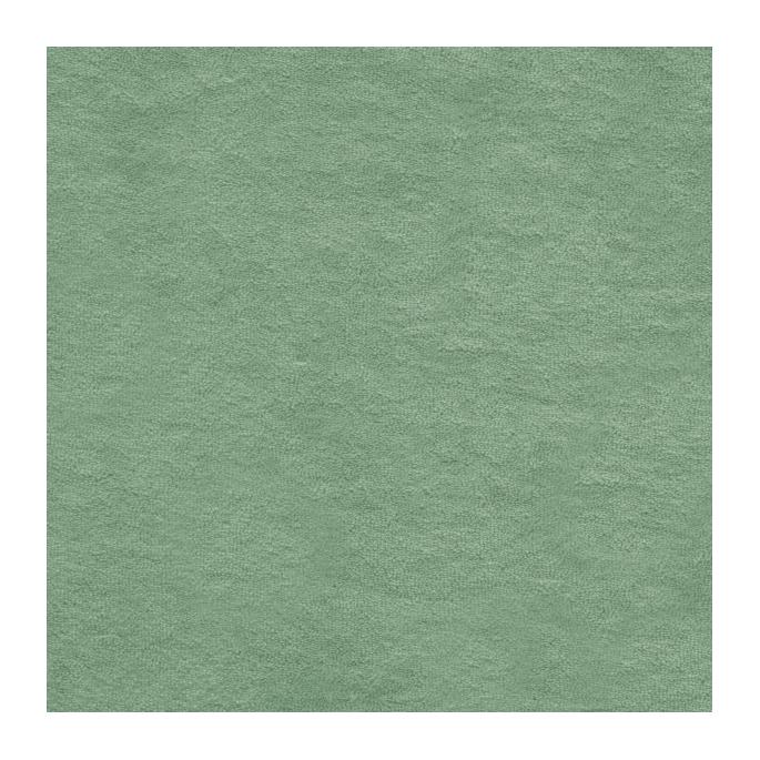 Micro éponge coton bio GOTS vert céladon
