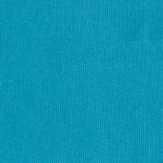 Molleton de coton Bio GOTS 365g Bleu Atoll