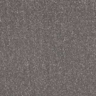 Molleton de coton BIO 365g Gris Chiné / Blanc