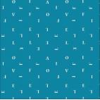 Coton imprimé Letters Love Life Art Gallery (par 10cm)