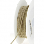 Cordon 100% lin 3mm (bobine 50m)