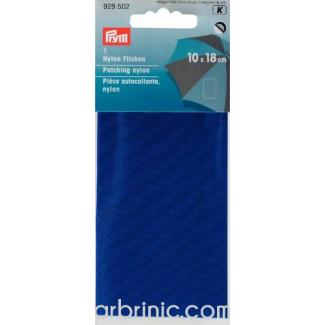 Pièce autocollante PRYM Nylon Bleu (10x18cm)