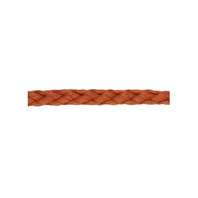 Braided Poly Cord 5mm Brown (50m roll)