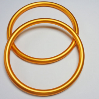 Sling Rings Gold Size M (1 pair)