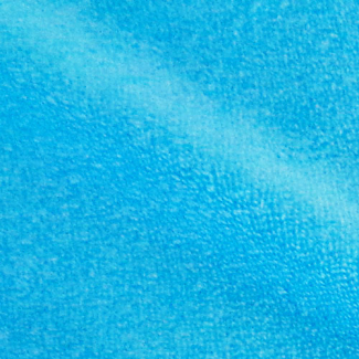 Lagoon blue bamboo single loop fabric