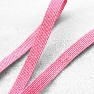 Braided Elastic Pink 6mm (100m roll)