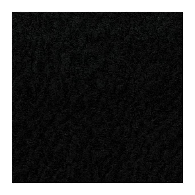 Micro éponge coton bio GOTS noire