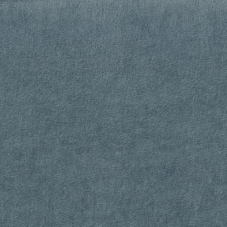Cotton Micro-terry Organic GOTS 290g Monument Grey (per meter)